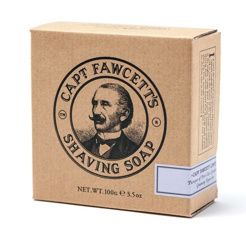 Captain Fawcett Scheerzeep - Navulverpakking 100g