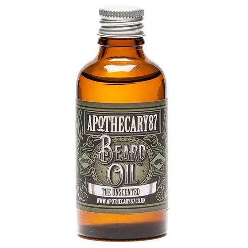 Apothecary87 The Unscented Baardolie 50 ml