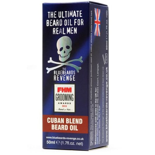 Bluebeards Revenge Baardolie Cuban Blend 50 ml