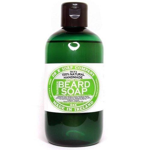 Dr K Soap Company Baardzeep Woodland XL 250 ml