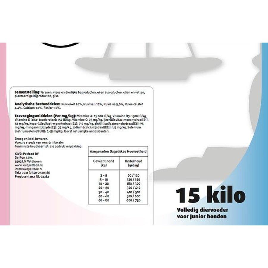 Kivo junior geperste brok 15kg-3
