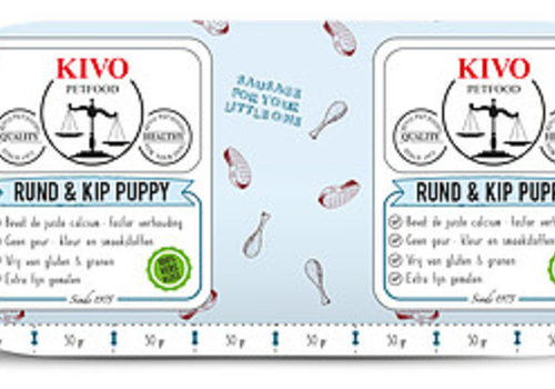 Kivo puppy compleet 500gr