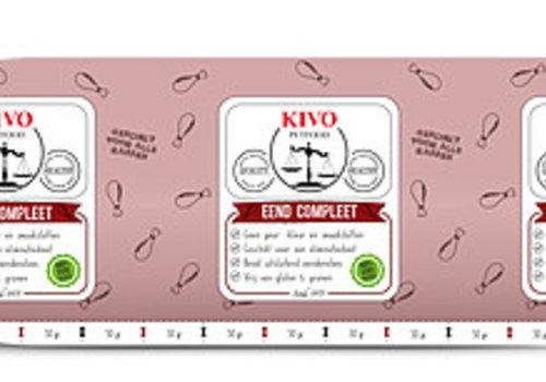 Kivo  eend compleet vers vlees
