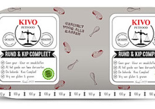 Kivo compleet vers vlees.