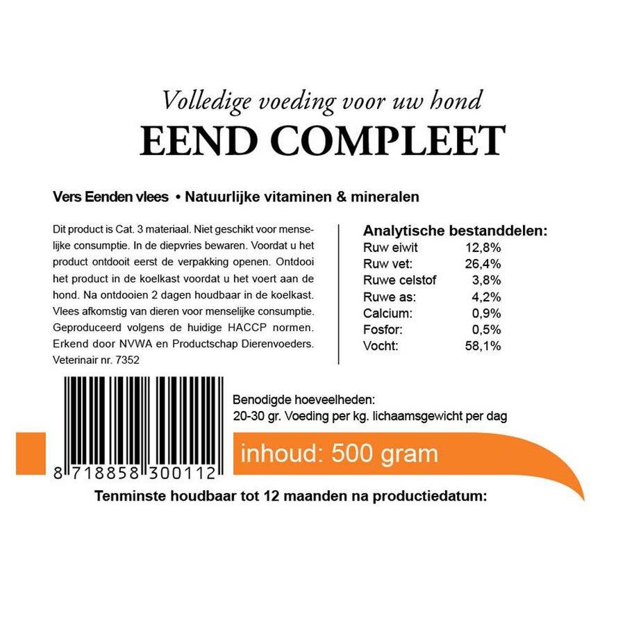 Kivo  eend compleet 500 gram-3