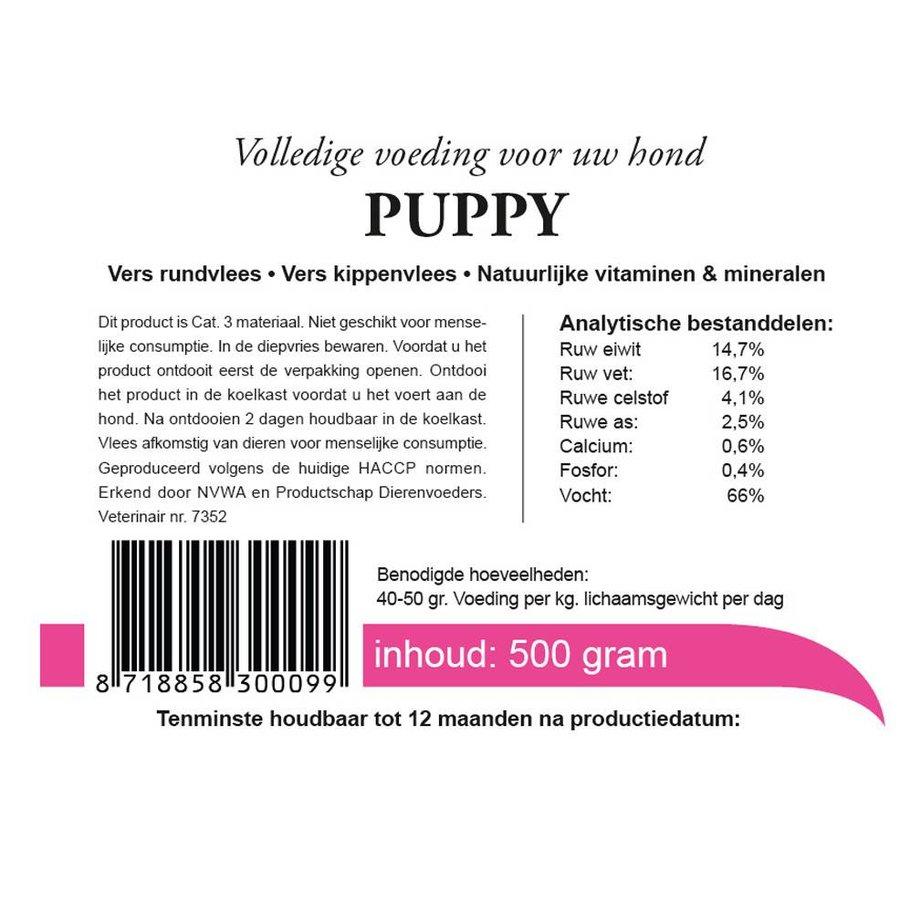 Kivo puppy vers vlees 1000 gram-3