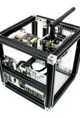MakerBeam - 10x10mm aluminum profile Black Premium MakerBeam Starter Kit
