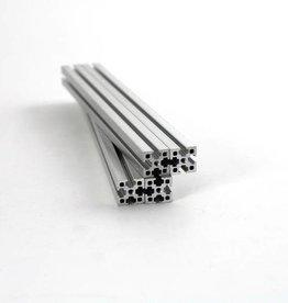 MakerBeamXL - 15x15mm aluminum profile 200mm (4p) clear MakerBeamXL (15mmx15mm)