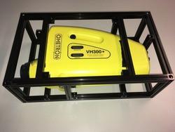Test setup vibration sensor with MakerBeamXL