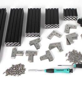 MakerBeamXL - 15x15mm aluminum profile MakerBeamXL Starter Kit Black Premium