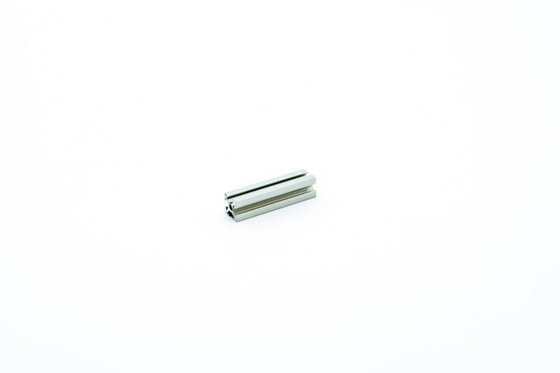 MakerBeam - 10x10mm aluminum profile 8 pieces of 40mm clear anodised makerBeam