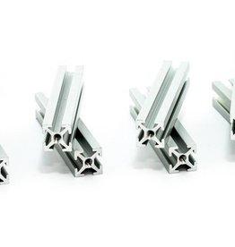 MakerBeam - 10x10mm aluminum profile 60mm (8p) clear MakerBeam