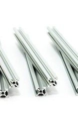 MakerBeam - 10x10mm aluminum profile 6 pieces of 150mm clear anodised makerBeam