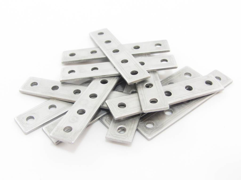 MakerBeam - 10x10mm aluminum profile 12 pieces of MakerBeam Straight brackets (OpenBeam compatible)