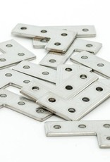 MakerBeam - 10x10mm aluminum profile 12 pieces of MakerBeam 90 degree brackets  (MakerBeamXL and OpenBeam compatible)