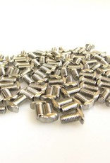 MakerBeam - 10x10mm aluminum profile 100 pieces, M3, 6mm, MakerBeam wing type bolts