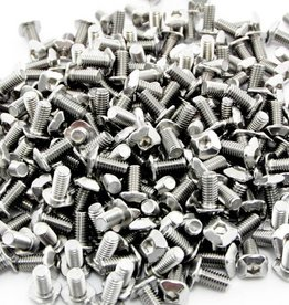 MakerBeam - 10x10mm aluminum profile Square headed bolts 6mm (250p) for MakerBeam