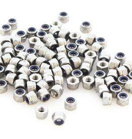 MakerBeam - 10x10mm aluminum profile Self locking nuts (100p)