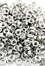 MakerBeam - 10x10mm aluminum profile 250 pieces, M3 regular nuts compatible with both MakerBeam, MakerBeamXL and OpenBeam bolts