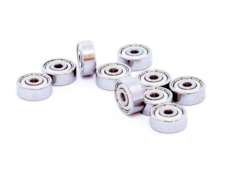 MakerBeam - 10x10mm aluminum profile 10 pieces of bearings for MakerBeam (package comes with MakerBeam square headed bolts)