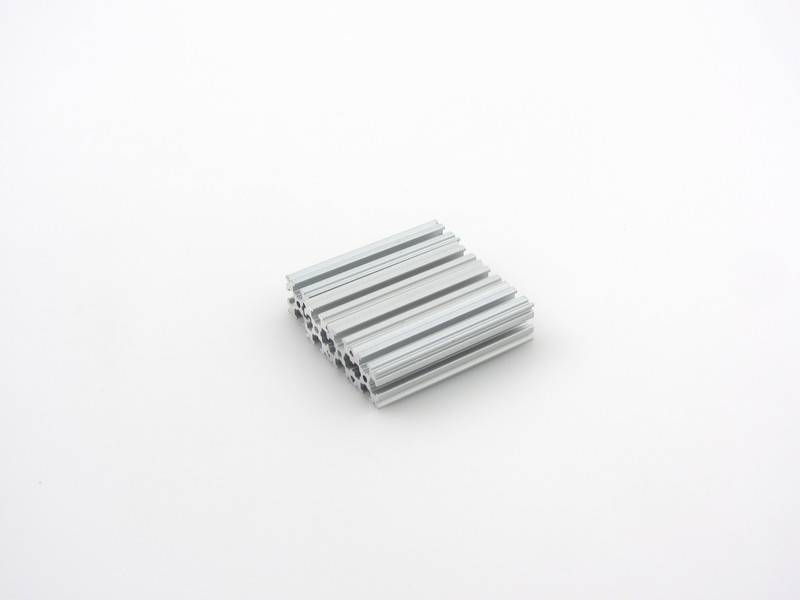 OpenBeam - 15x15mm aluminum profile 4 pieces of 60mm clear anodised OpenBeam