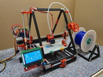 3D Andy's starter kit 3D printer/plotter/CNC - 3D printer video