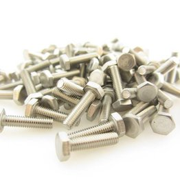 OpenBeam - 15x15mm aluminum profile Hexagon head bolts 12mm (100p) for OpenBeam