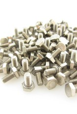 OpenBeam - 15x15mm aluminum profile 100 pieces, M3, 6mm, hexagon head bolts for OpenBeam