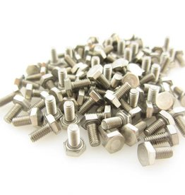 MakerBeamXL - 15x15mm aluminum profile Hexagon head bolts 6mm (100p) for 15x15mm ( MakerBeamXL and OpenBeam)