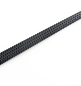 OpenBeam - 15x15mm aluminum profile 600mm (3p) black OpenBeam (Kossel Mini)