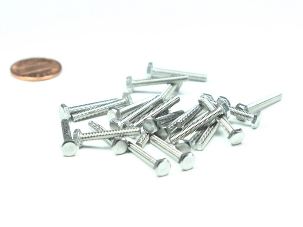 PCBGrip Hex Head Bolt 25mm, 25 pieces, 10020
