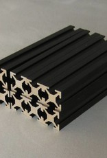 MakerBeam - 10x10mm aluminum profile 16 pieces of 100mm black anodised MakerBeam (closeout)