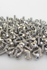 MakerBeam - 10x10mm aluminum profile bag of M3 bolts with serrated head bottom (closeout)