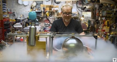 Adam Savage uses on of our 15x15mm profiles!