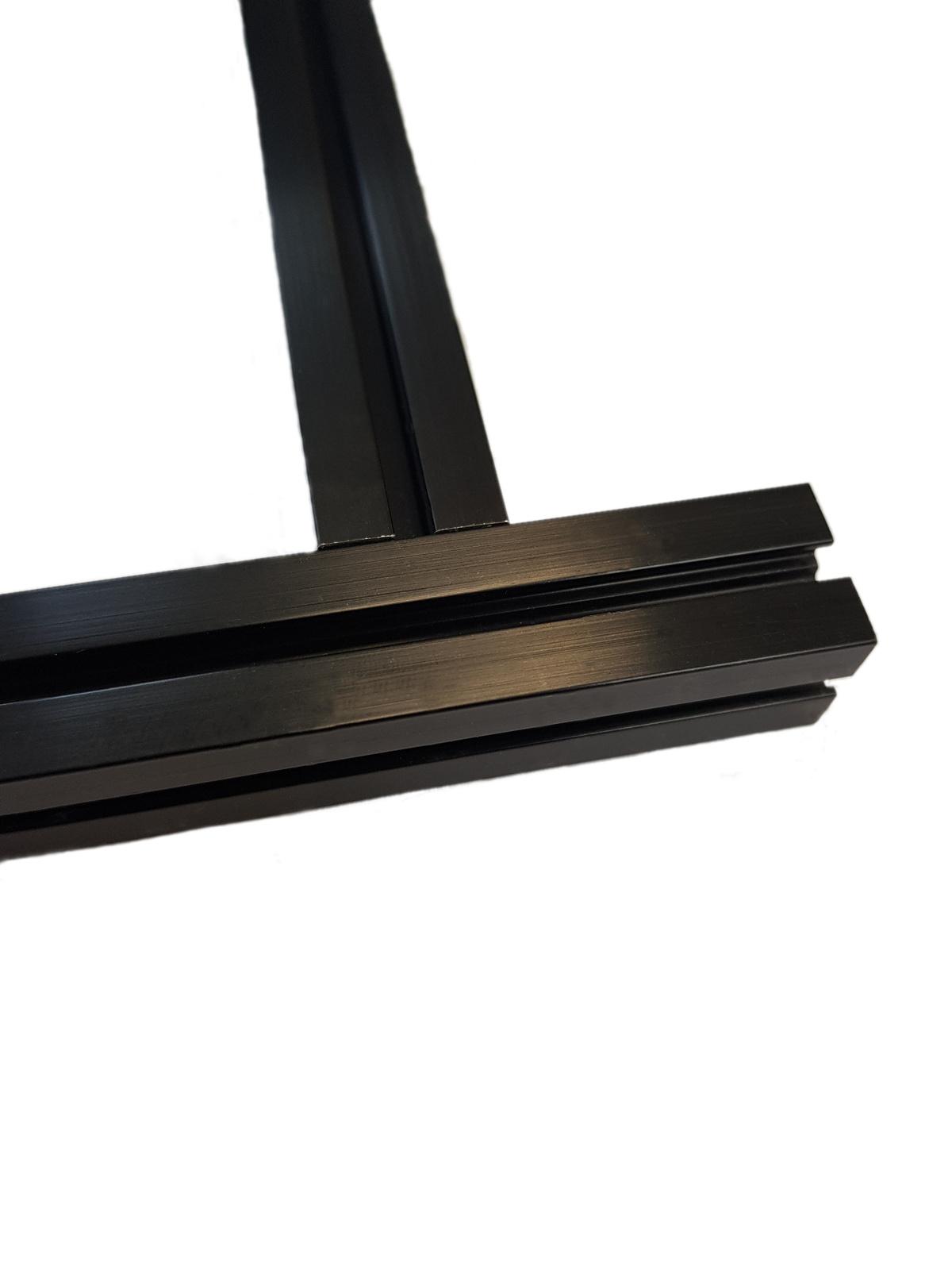 MakerBeam - 10x10mm aluminum profile 90 degree blind fastener