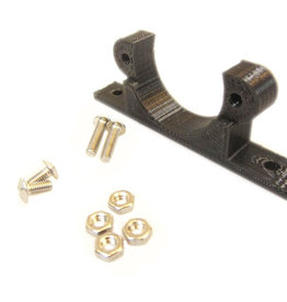 MakerBeam - 10x10mm aluminum profile Micro stepper bracket (1p) for MakerBeam