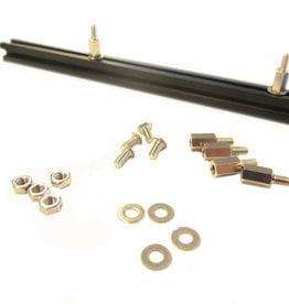 MakerBeam - 10x10mm aluminum profile Standoffs or spacers (4p)