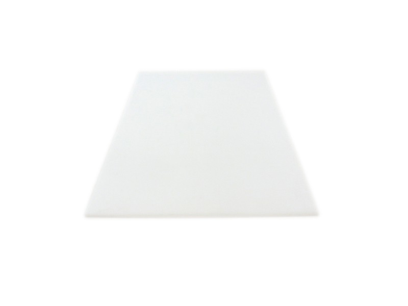 MakerBeam - 10x10mm aluminum profile 1 piece polystyrene sheet, 300mmx200mmx3 mm, white
