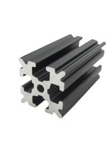 OpenBeam - 15x15mm aluminum profile 4 pieces of 450mm black anodised OpenBeam