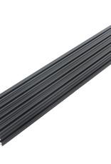 OpenBeam - 15x15mm aluminum profile 4 pieces of 300mm black anodised OpenBeam