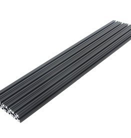OpenBeam - 15x15mm aluminum profile 300mm (4p) black OpenBeam