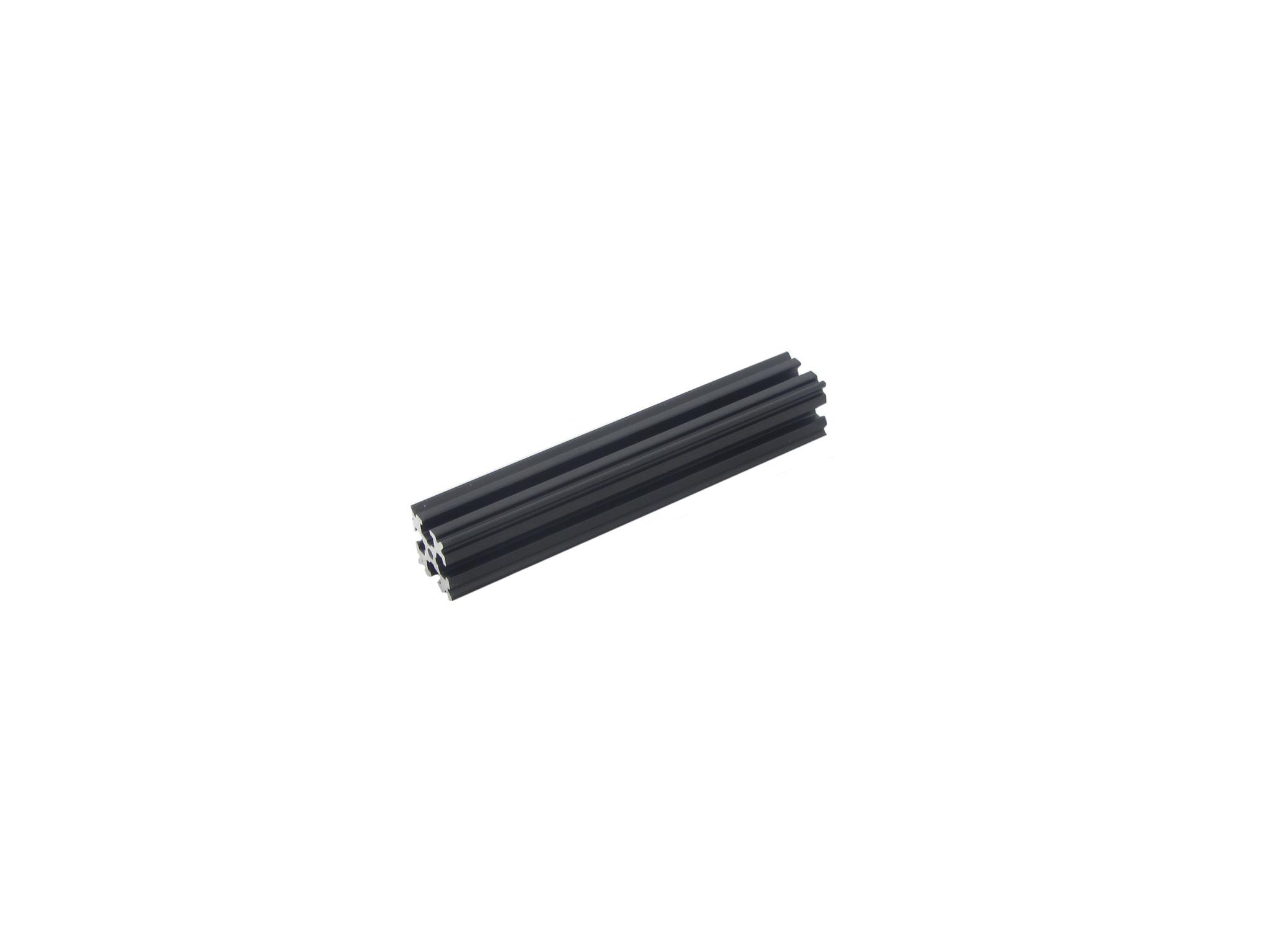 OpenBeam - 15x15mm aluminum profile 4 pieces of 90mm black anodised OpenBeam