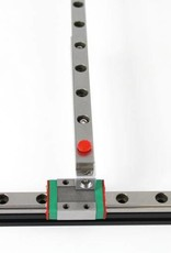 MakerBeam - 10x10mm aluminum profile 1 piece of 750mm linear slide rail and carriage
