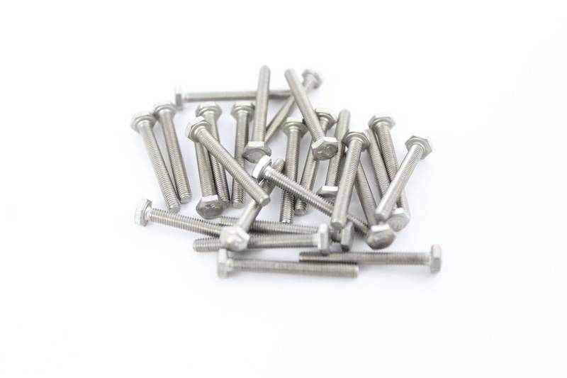 OpenBeam - 15x15mm aluminum profile 25 pieces, M3, 25mm, hexagon head bolts for OpenBeam
