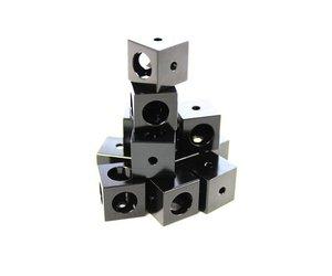 Lot de 12 Cubes d/'angles Makerbeam XL noirs 15/x 15/x 15/mm
