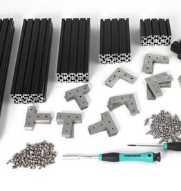 MakerBeamXL - 15x15mm aluminum profile MakerBeamXL Regular Starter Kit Black