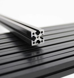 MakerBeamXL - 15x15mm aluminum profile 1000mm (1p) black MakerBeamXL (15mmx15mm)