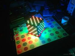 Light cubes - Arduino, Adafruit NeoPixel and MakerBeam