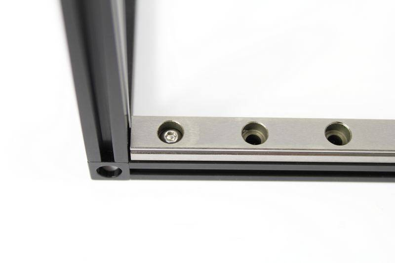 MakerBeam - 10x10mm aluminum profile 1 piece of 300mm linear slide rail and carriage