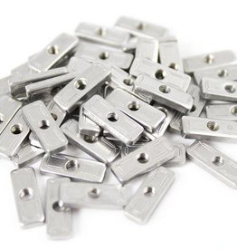 MakerBeamXL - 15x15mm aluminum profile T-slot nuts for MakerBeamXL (50p)